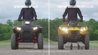7. 2016 Polaris / Sportsman XP 1000 vs. Can-Am Outlander DPS 1000