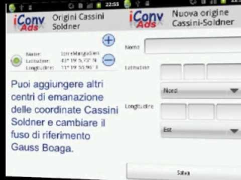 Video of iConv Ads Coordinate converter
