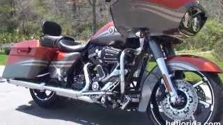 1. Used 2013 Harley Davidson CVO Road Glide Motorcycles for sale - Ocala, FL