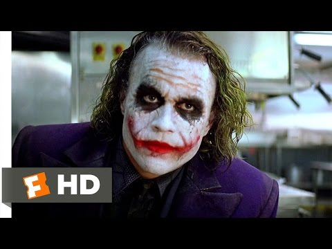 movieclipsdotcom - The Dark Knight Movie Clip - watch all clips http://j.mp/wPPGeL Buy Movie: http://j.mp/uTgXyQ click to subscribe http://j.mp/sNDUs5 The Joker (Heath Ledger) ...