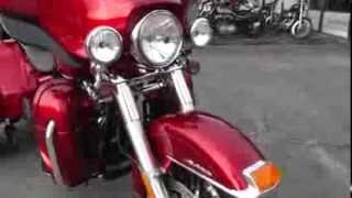 10. 850455 - Used 2013 Harley Davidson Trike FLHTCUTG Tri Glide Motorcycle For Sale
