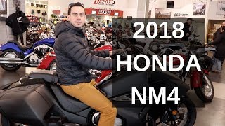 8. 2018 Honda NM4 Automatic Motorcycle - First Look & Impressions!