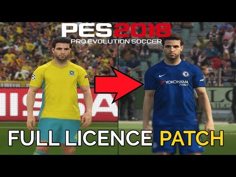 PES 2018: How To Install Official Team Names, Kits, Logos, Leagues & More