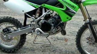 4. Kawasaki KX 85