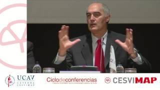 X Jornada Ciclo de Conferencias CESVIMAP: Apertura por José M. García (CESVIMAP) y Pedro Mas (UCAV)