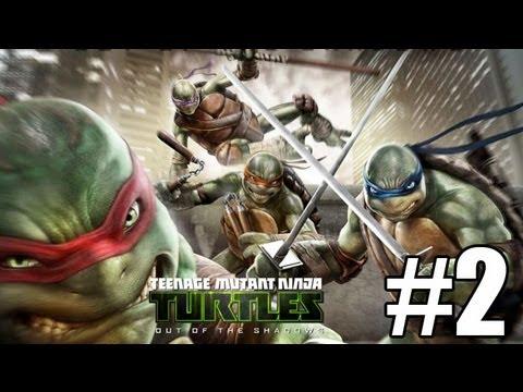 Прохождение Teenage Mutant Ninja Turtles Out of the Shadows Часть 2