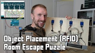 Escape Room Object Placement Puzzle using Arduino/RFID