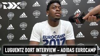 Luguentz Dort Interview - Adidas Eurocamp