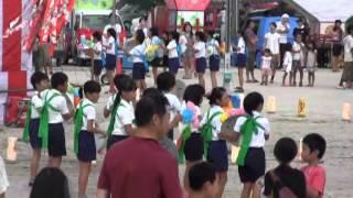 羽黒の夏祭り15・ダンス花笠音頭・東小児童