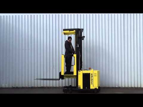 HYSTER MAN UP / ORDER PICKER 600KGS USED ELECTRIC FORKLIFT TRUCK