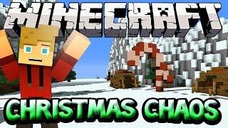 """THE PUMPKIN KING"" - Christmas Chaos Mineplex Minecraft Mini-Game w/LittleLizardGaming"
