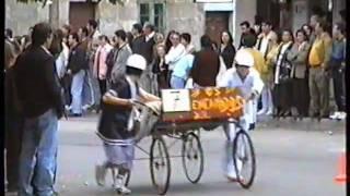 Meano Spain  city photo : Carreras de camas 1996 (Meaño)