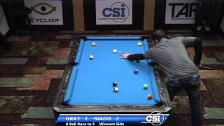 2014 CSI USBTC 8 Ball: Joey Gray Vs Carlo Biado