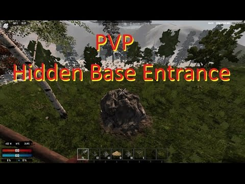 7 Days To Die Hidden Base Entrance
