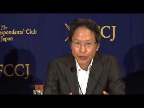 姜尚中さん講演「北朝鮮ミサイル危機にどう向き合うべきか」日本外国特派員協会