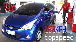5. 55 HORSEPOWER CAR? Whats the Topspeed of Hyundai EON 800cc engine