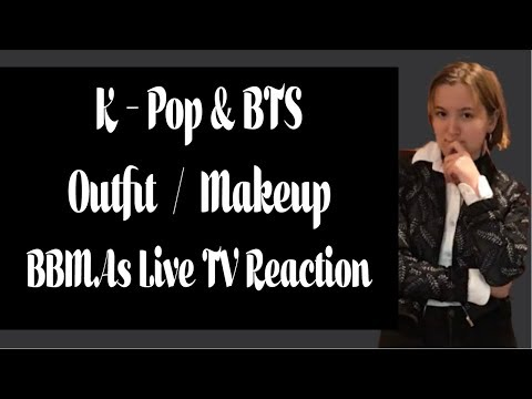 BTS BBMA's Outfit & Makeup + Reaction To Award