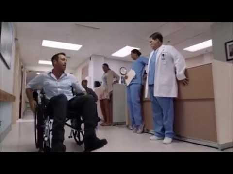 Hawaii Five-0 Season 7 Episode 1 McDanno Scenes Part 1 - Wheelchair Race