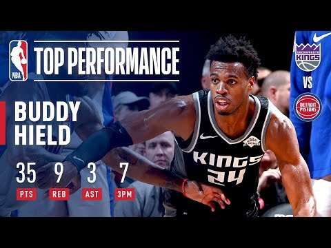 Video: Buddy Hield Goes Off And Hits Game-Winner For Kings! | January 19, 2019
