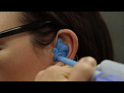 CluisTROM Custom Moulded Hearing Protection - Demo Video