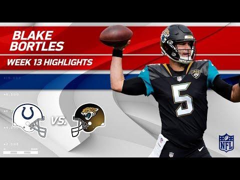 Video: Blake Bortles' Big Day w/ 309 Yards & 2 TDs! | Colts vs. Jaguars | Wk 13 Player Highlights