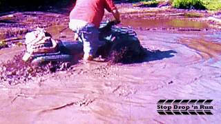 9. Kawasaki Brute Force 650 4x4 Mud Bogging