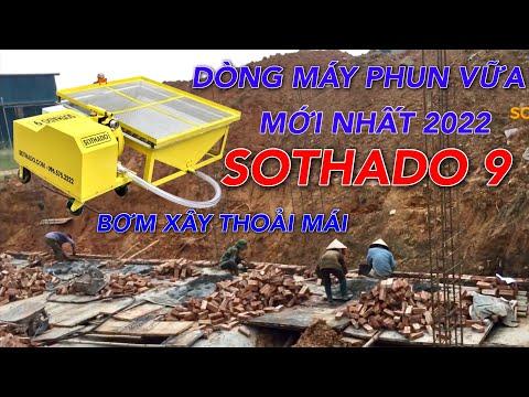 Bật mí cách chuyển vữa xây bằng máy phun vữa trát tường điện 1 pha