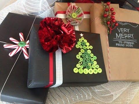 Envolturas para regalos