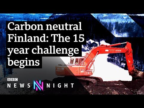 Can Finland become carbon neutral by 2035? - BBC Newsnight