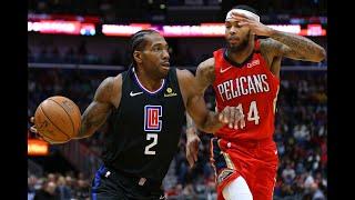 Clippers vs. Pelicans Final Minute of 4th Quarter
