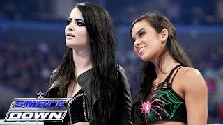 Aj Lee   Paige Unite In A War Of Words With The Bella Twins  Smackdown  March 26  2015