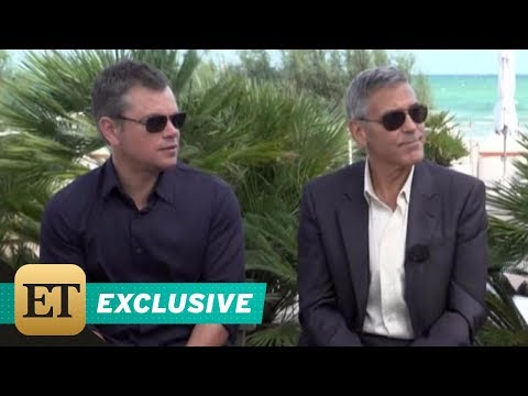 EXCLUSIVE: Matt Damon on What George Clooney Is Really Like as the Boss
