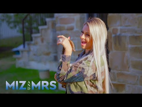Maryse rescues a snake from a freaked-out Miz: Miz & Mrs. Preview, Aug. 13, 2019