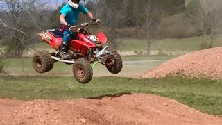 Video Cole and Brad On Moto Track Honda 450r MP3, 3GP, MP4, WEBM, AVI, FLV Agustus 2017