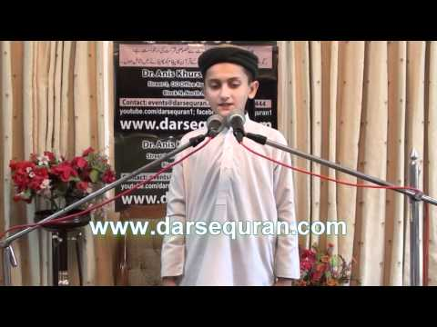 jamia tur rasheed - Young Student of Jamia Tur Rasheed Delivers English Speech.