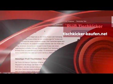 Profi Tischkicker im Test