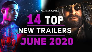 TOP 14 New Game Trailers ( JUNE 2020 ) XBOX,  XBOX SERIES X , PS4 , PS5 , PC by DigitalModz