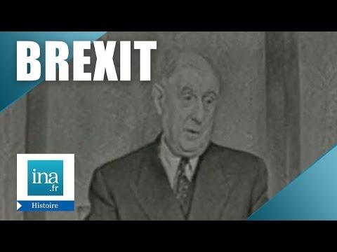 De Gaulle - La Grande Bretagne et l'Europe