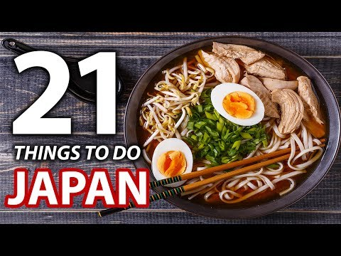 21 Things to do When You Arrive in Japan (видео)