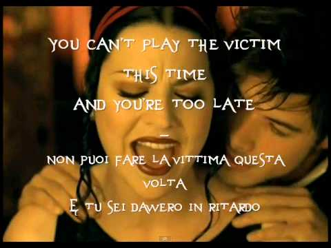 Evanescence -Call Me When You're Sober -Testo e Traduzione Ita (Lyrics)