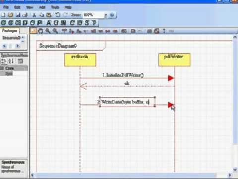 Finish UML diagram faster with short cut keys