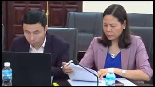 Giao ban công tác nội chính Quý 1 năm 2018