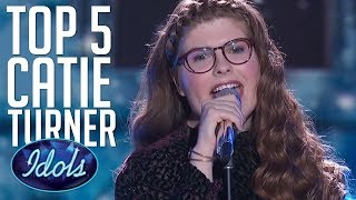 Video 5 AMAZING Auditions & Performances By CATIE TURNER on American Idol 2018  | Idols Global MP3, 3GP, MP4, WEBM, AVI, FLV Desember 2018