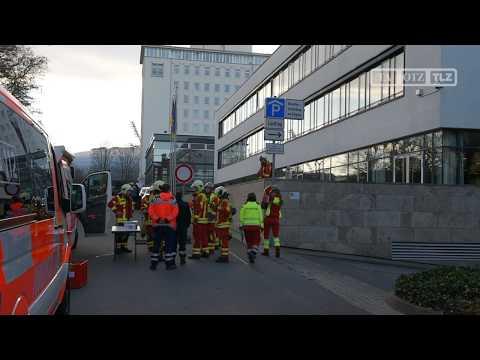 Bauerndemo und Polizeieinsatz am Thüringer Landtag in  ...