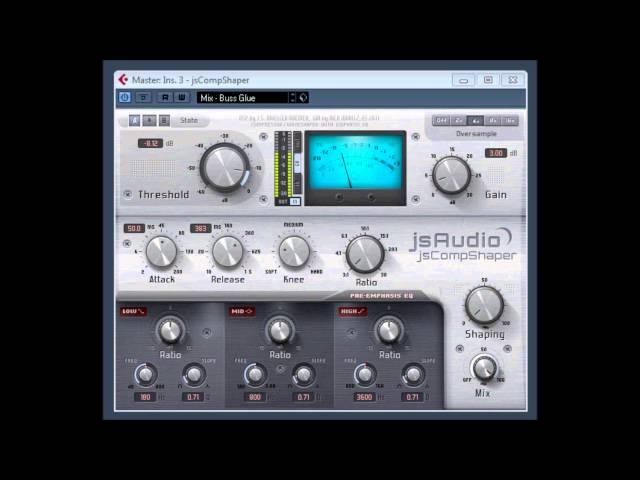 jsCompShaper by jsAudio