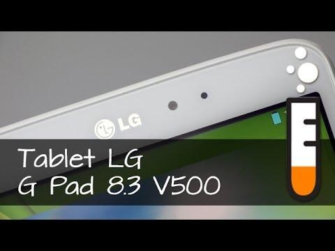 LG G Pad 8.3 tablet V500 – Resenha Brasil