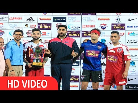 Ranbir Kapoor | Virat Kohli | M S Dhoni | Abhishek Bachchan At Charity Football Match