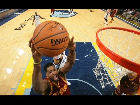 Video: Tristan Thompson Finishes A Nasty One-Handed Oop