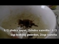 SUSCRIBETE a mi canal: http://bit.ly/RUeKwV receta: 2T de harina, 3/4 de azúcar, 2 huevos, 1/2 chdta de polvo de hornear, 2 chta de vainilla, 5 plátanos, 3/4...