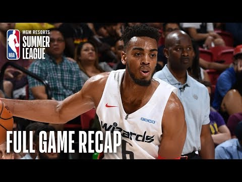 Video: PELICANS vs WIZARDS | Tony Brown Jr. Records 18 Points & 15 Boards | MGM Resorts NBA Summer League